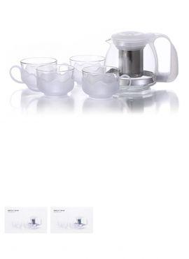 Simple 4+1 Tea Set