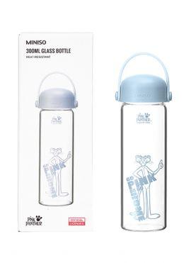 Pink Panther High Borosilicate Glass Bottle 300ml