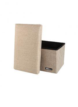 Foldable Storage Stool