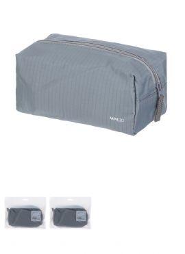 Minigo Portable Zippered Cosmetic Bag