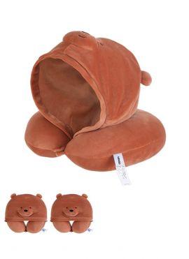 We Bare Bears - U-shaped Pillow with Hood