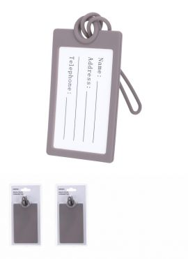 Solid Color Luggage Tag