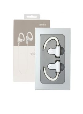 Stereo Bluetooth Earphone (White)