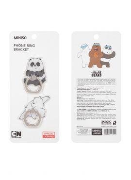 We Bare Bears Ring Bracket 2 Pack