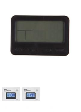 3D LCD Alarm Clock With Light