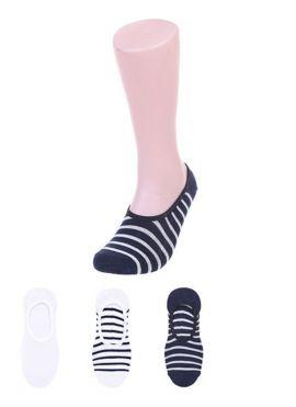 Men's Three color Low Cut Socks 3 Pairs