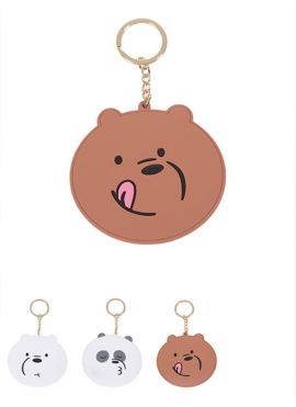 We Bare Bears-Mirror Pendant