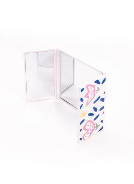 Flower Series Three Fold Portable Mirror