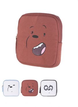 We Bare Bears - Square Coin Purse