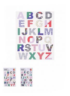 Floral Series - Letter Stickers