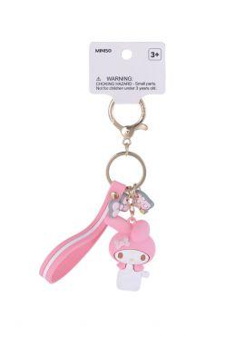 Sanrio My Melody Key Chain with Bag Charm