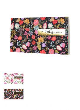 Floral Series Hardcover Weekly Planner