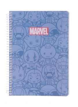 Marvel Collection Wire bound Book 100 Sheets, Type B, Mixed Design