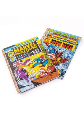 Marvel Collection Wire bound Book - Small