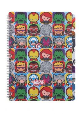 Marvel Collection Wire bound Book - Large