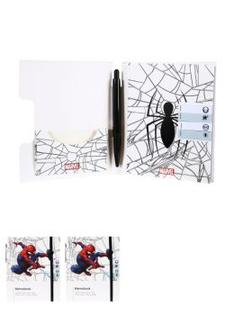 Marvel Collection Memo Book with Pen