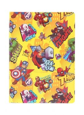 Marvel Collection Colored Sticky Notes
