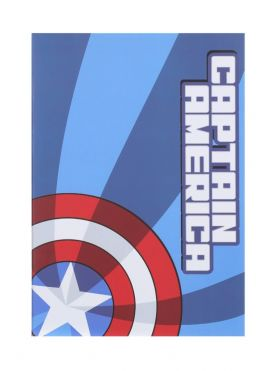 Marvel Collection Stitch Bound Book - Captain America