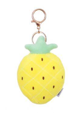 Pineapple Plush Key Ring