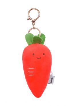 Carrot Plush Key Ring