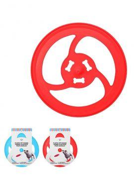 Plastic Pet Frisbee (Mix)