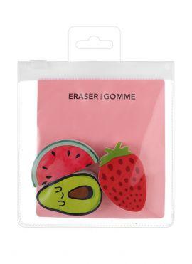 Fruit Series Eraser Set