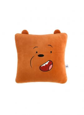 We Bare Bears Pillow & Blanket (Grizzly)