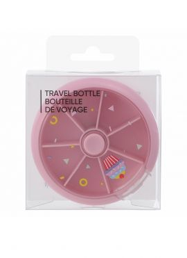 Travel Pills Compartment