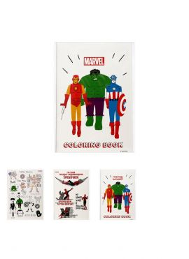 Marvel Collection - A5 Coloring Book