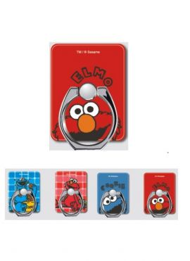 Sesame Street Phone Ring Stand-2 Pcs