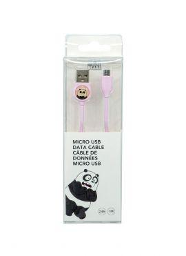 We Bare Bears - Micro USB Data Cable