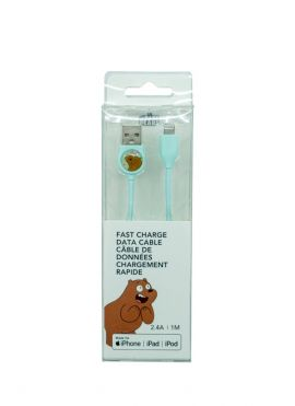 We Bare Bears - Fast Charge Data Cable