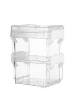 Two-layer Storage Box (High)