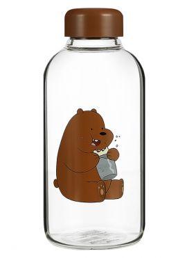 We Bare Bears - Pot-bellied Glass Bottle