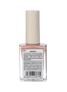 Lasting Peel off Nail Polish#23