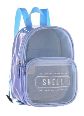 Backpack with Text