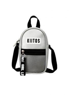 Crossbody Bag with Net Pocket