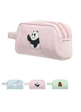 We Bare Bears Cosmetic Bag