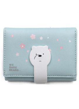 We Bare Bears Women's Wallet (Ice Bear)
