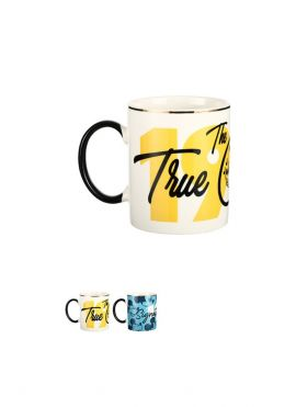 Mickey Mouse Collection Number Ceramic Mug with Gold Edge 340ml