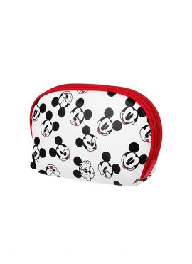 Mickey Mouse Collection Shell Cosmetic Bag (White)
