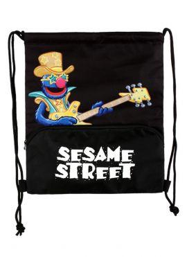 Sesame Street Rock Drawstring Bag (Grover)