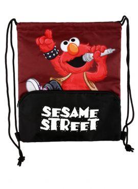 Sesame Street Rock Drawstring Bag (Elmo)