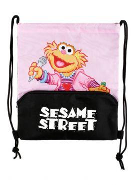 Sesame Street Rock Drawstring Bag (Zoe)
