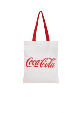 Coca-Cola Shopping Bag with Simple Letters