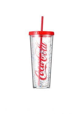 Coca Cola Large Straw Water Bottle 720ml