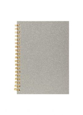 Gold Powder Cover Coil Book
