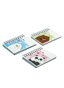 We Bare Bears-Wirebound Book (Small)