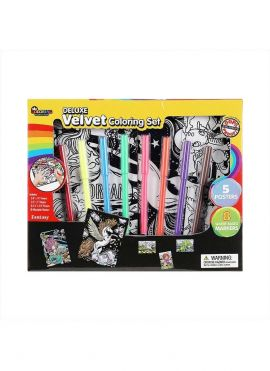 Velvet Coloring Set (Fairy Tale)