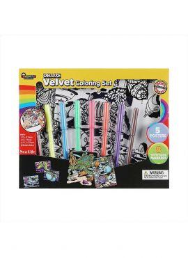 Velvet Coloring Set (Ocean)